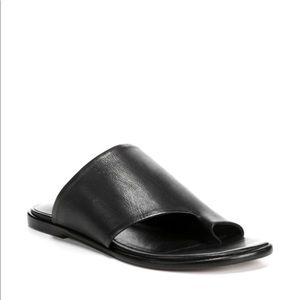 Vince Edris Leather Slide Sandals